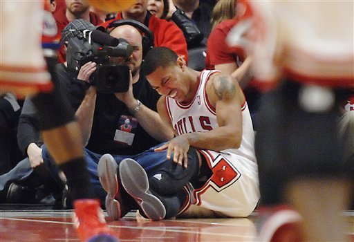 D Rose Injury